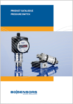 BD|SENSORS Product catalogue Pressure Switch | H&H Measurement