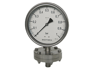 Badotherm Diaphragm Pressure Gauges